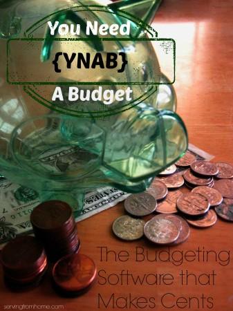 YNAB = You Need A Budget