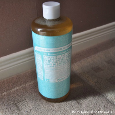 castile soap for shampoo