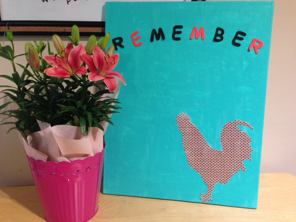 Easter Remember Canvas Art