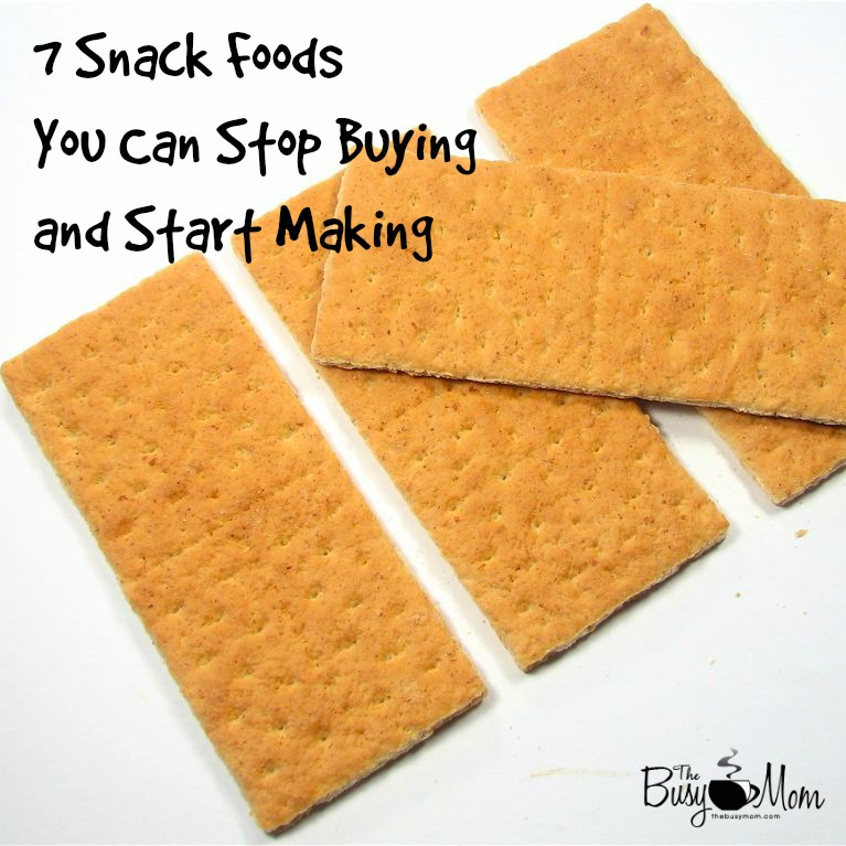 homemade snack foods