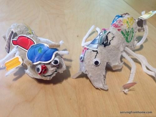 Egg Carton Ants