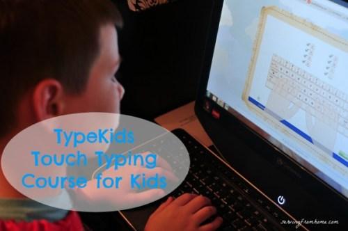 TypeKids Touch Typing