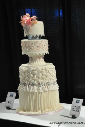 Baking and Sweets Show Wedding Cake