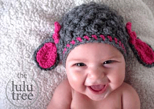 Lulu Little Lamb Hat baby