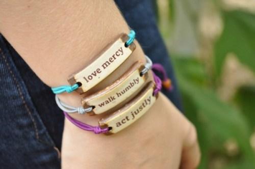 Micah 6-8 bracelets She Does Justice