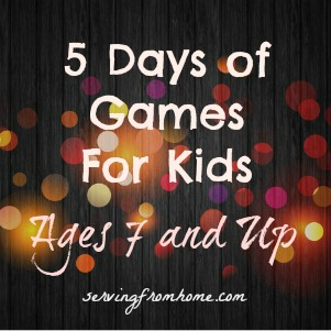 Games for Kids Ages 7 And Up