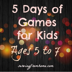 Games for Kids ages 5 to 7