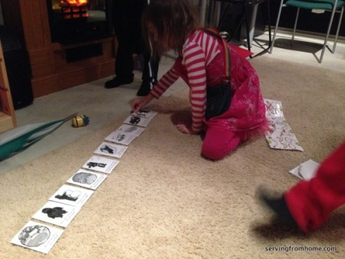 Snowy Day story sequencing