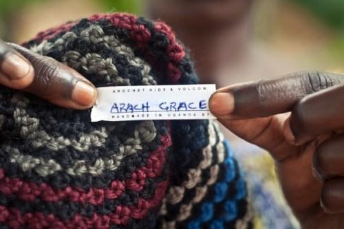 Arach-Grace Krochet Kids Label