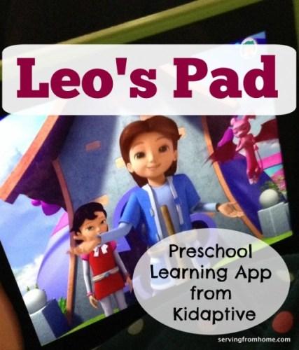 Leo's Pad Preschool Learning App