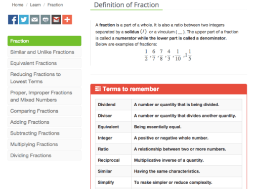 iPractice Math Lessons
