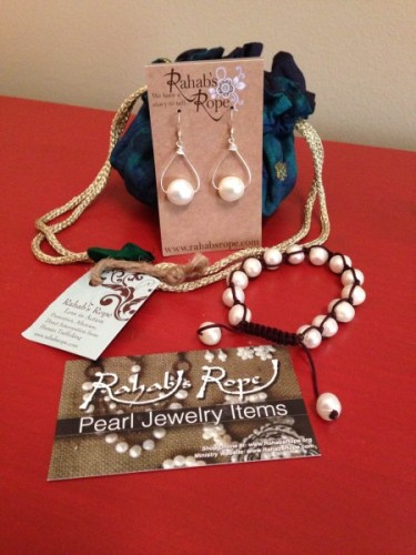 Rahab's Rope Pearl Collection