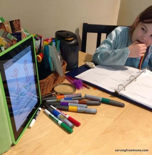 Grapevine Studies on iPad