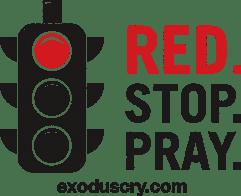 red stop pray