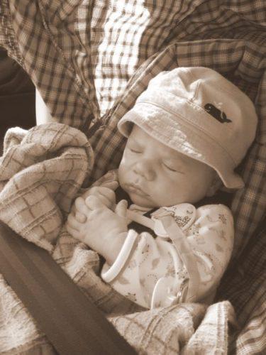 The Boy week 3 baby