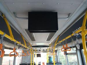otobüs içi kamera ve monitör montaj- servis