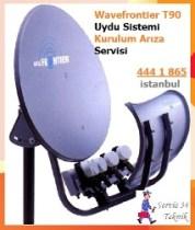 waverfrontier-t90-uydu kurulum