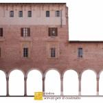 Palazzo ducale di Revere rilievi fotopiani prospetti
