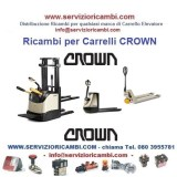 Ricambi per Transpallet Elettrici CROWN