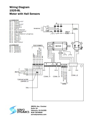 1525BL Servo Amplifier  Servo Dynamics