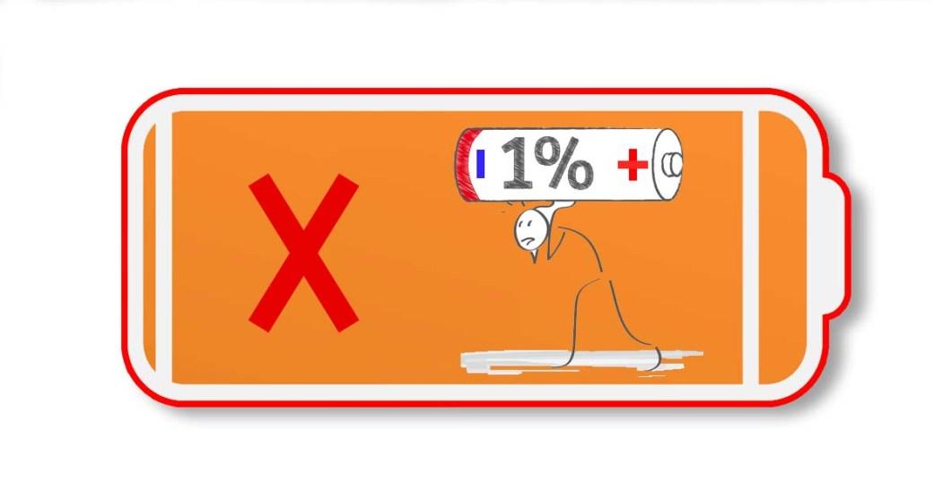 de ce nu se mai incarca bateria la laptop