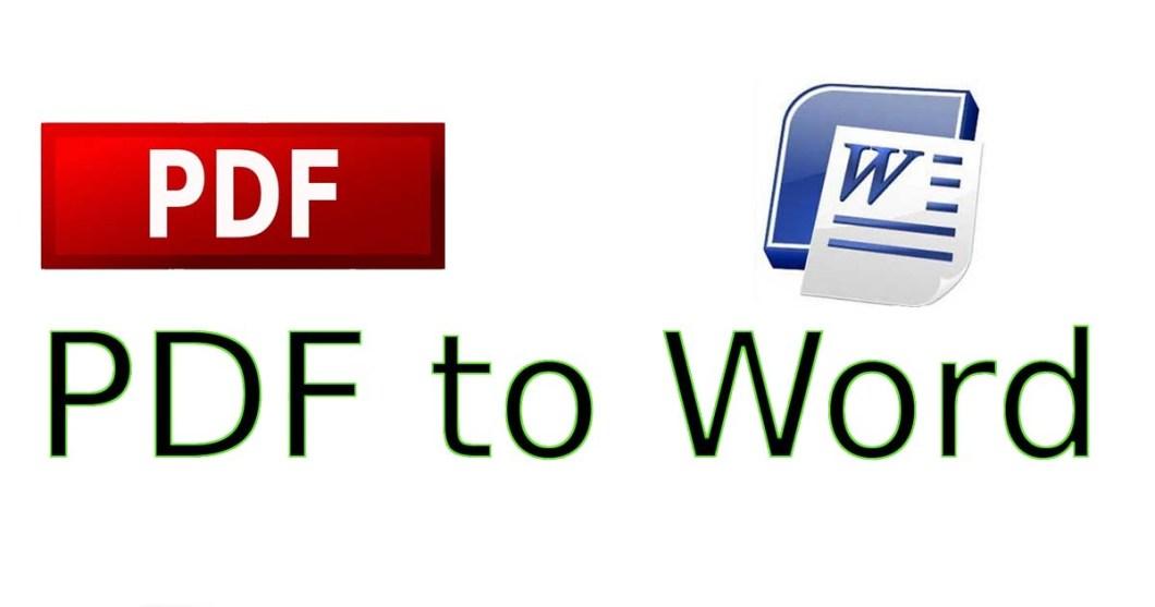cum transform un pdf in word