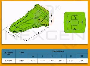 Pompa Hydrauliczna  dwusekcyjna  JCB 3CX 4CX  91972400