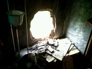 Gereja Stasi Mandiraja Banjarnegara dibobol maling