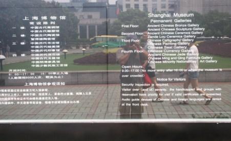 Shanghai Museum Papan Nama