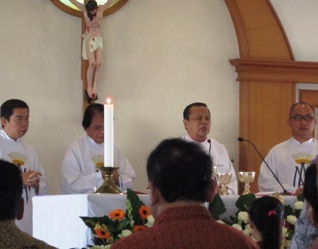 Atma Jaya misa perpustakaan 3