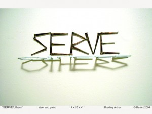 Serve-Others. by Yoga