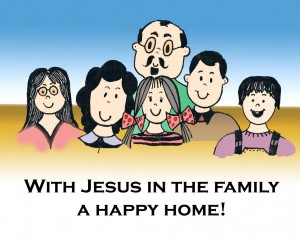 Keluarga bahagia by Kelund