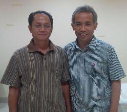 Romo Atsui MSF dan Romo Widyantardi Pr