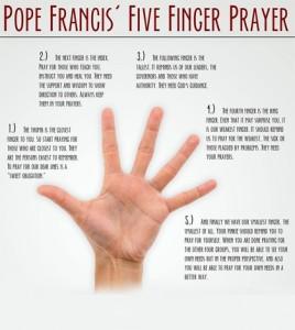 doa lima jari
