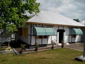 Rumah Bung Karno tampak depan/ Foto: Abdi S