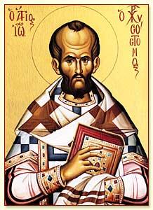santo yohanes chrysostomus