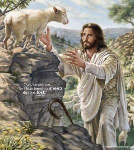 yesus dan anak domba by christianity