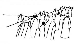 jesus dan kerumunan orang banyak by jetecroix