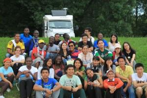 Bersama Kaum Muda dari Berbagai Negara 08-12-10 2