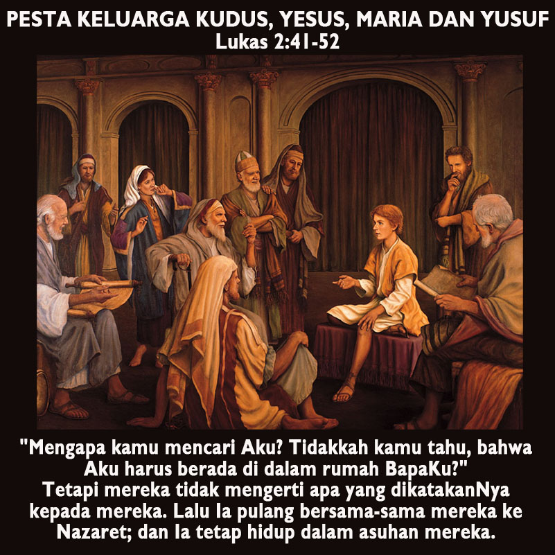 Belajar Dari Keluarga Kudus Nazaret Sesawi Net