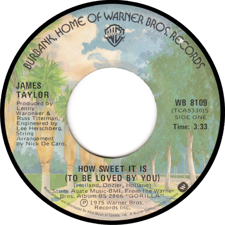 Download 1975 James Taylor - How Sweet It Is (To Be Loved by You ...