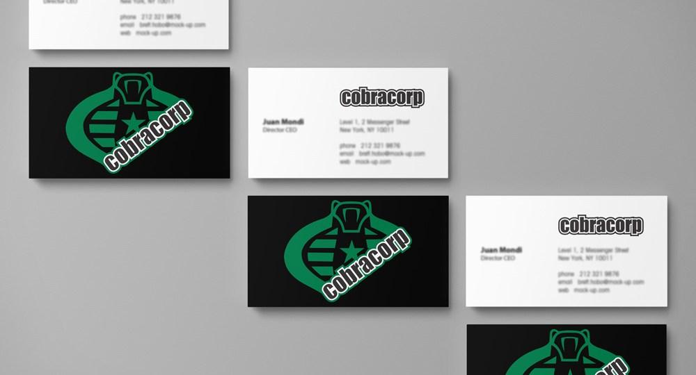 Logo diseñado para Cobra Corp