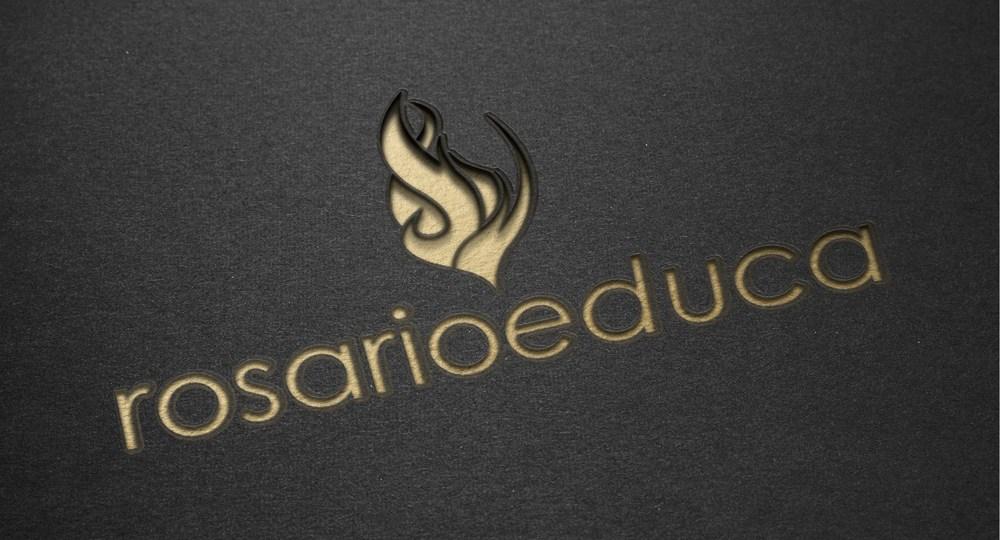Diseño de logo para Rosario Educa
