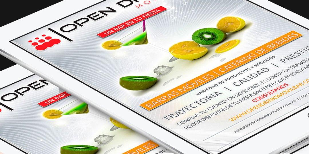 Diseño de Newsletter para Infoenvios – Cliente: Opendrinks