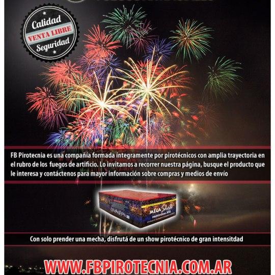 Diseño de Newsletter para Infoenvios – Cliente: Pirotecnia Rosario