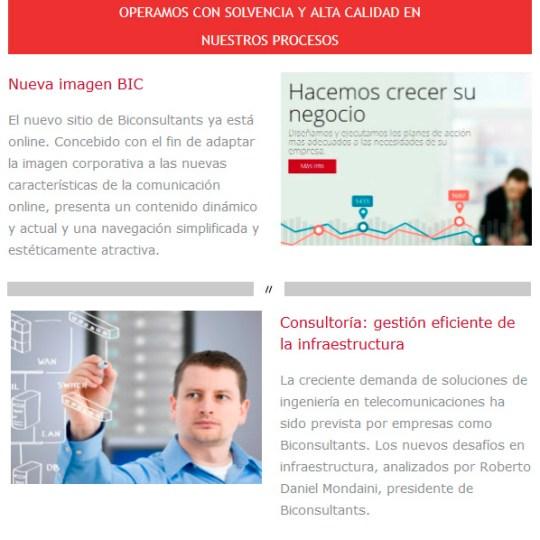 Diseño de Newsletters Rosario