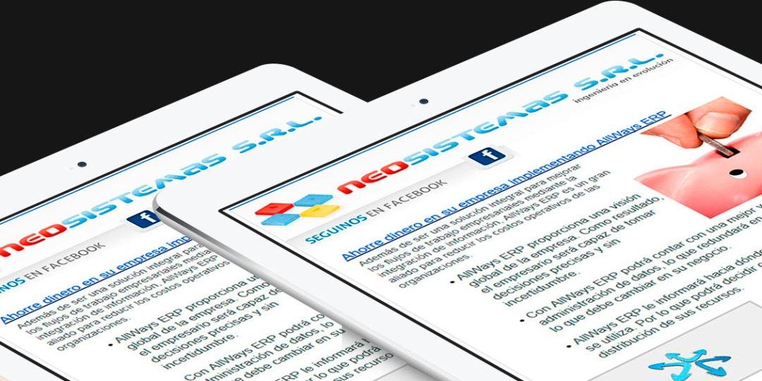 Diseño de Newsletters en Rosario