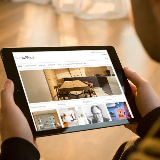 Diseño web para bulthaup