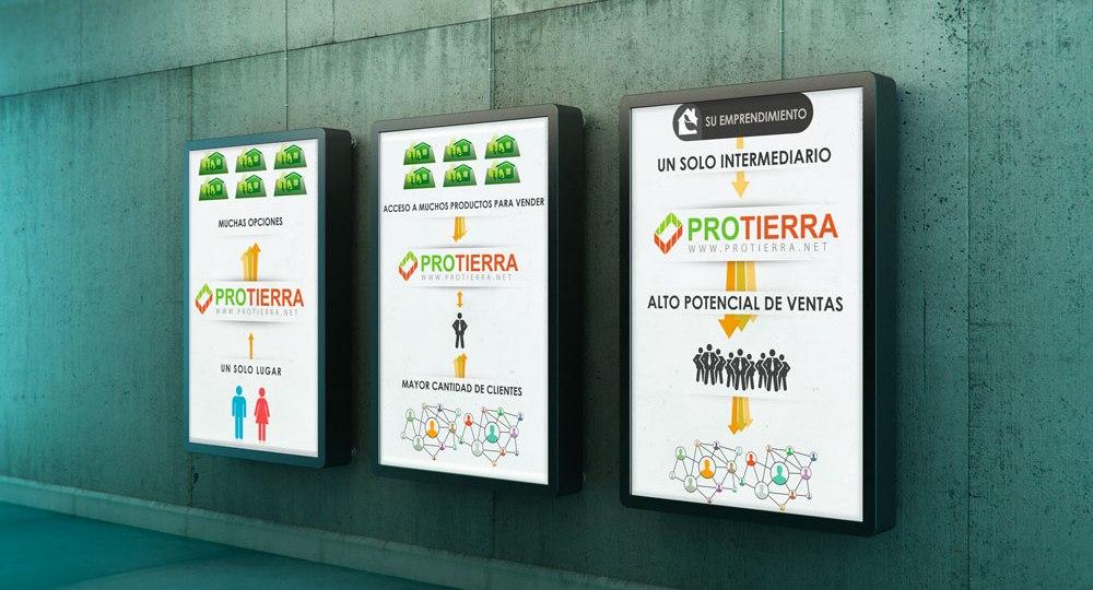Diseño infografía Protierra