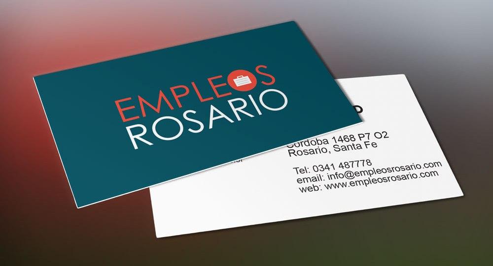 Diseño de logo para Empleos Rosario